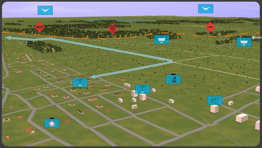 Complex Border Surveillance Solutions